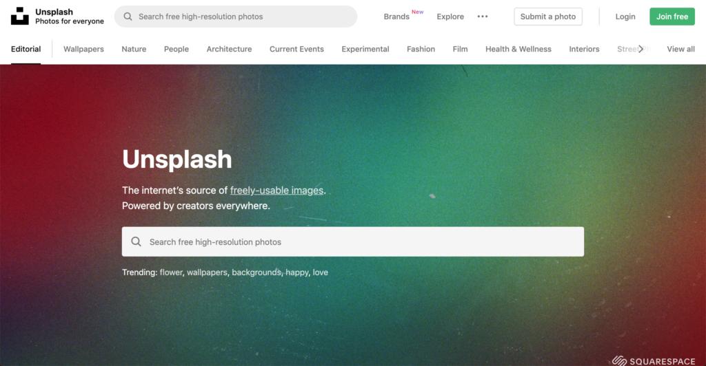 Unsplash 無料画像